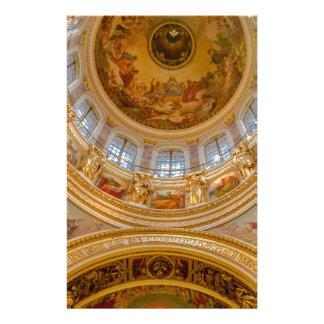 Kathedralen-St. Petersburg St. Isaacs, Russland Briefpapier