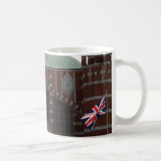 Kathedralen-weißer Kaffee-Tasse Kaffeetasse
