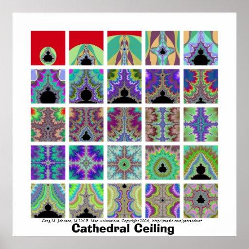 Kathedralendecke Plakat