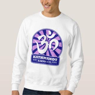 Kathmandu-Zeitalter und buddhistisches OM-Symbol Sweatshirt