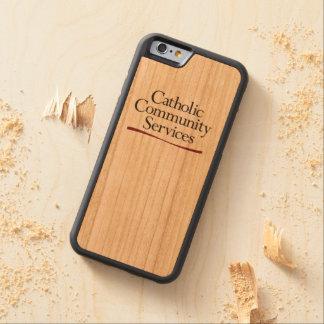 Katholischer Ableistungen von Sozialstunden iPhone Bumper iPhone 6 Hülle Kirsche