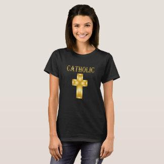 Katholisches Kreuz T-Shirt