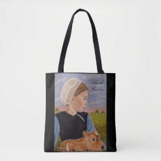 Kathryn in der Wiesen-amischen Themed Tasche
