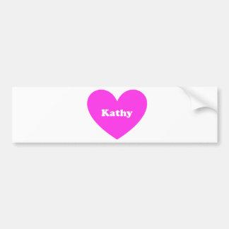 Kathy Autoaufkleber