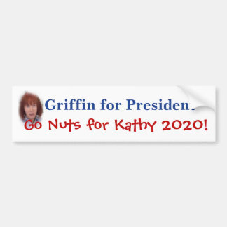 Kathy Greif für Präsidenten Autoaufkleber