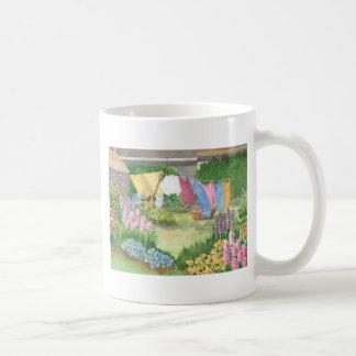 Kathys Wäscherei auf Monhegan ist Maine-Tasse Kaffeetasse