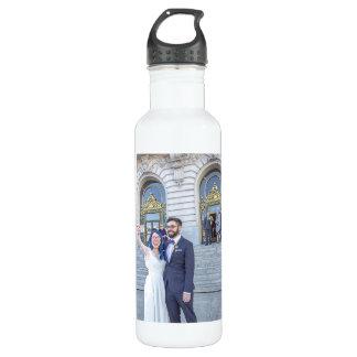 Katrina- u. Gregshochzeits-Wasser-Flasche Edelstahlflasche