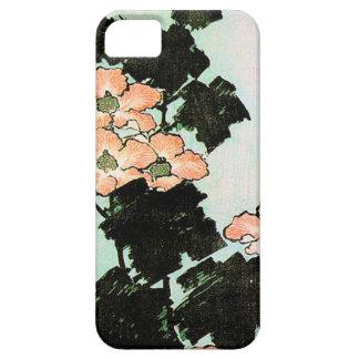 Katsushika Hokusai (葛飾北斎) - Hibiskus und Spatz Etui Fürs iPhone 5