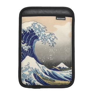 KATSUSHIKA HOKUSAI - Die große Welle weg von Sleeve Für iPad Mini