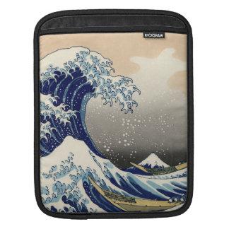 KATSUSHIKA HOKUSAI - Die große Welle weg von Sleeve Für iPads