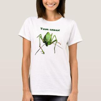 Katydid denke ökologisch T-Shirt
