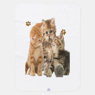 Kätzchen am Spiel Babydecke