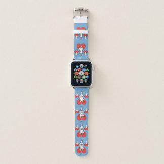 Kätzchen, das Liebe anhaftet Apple Watch Armband