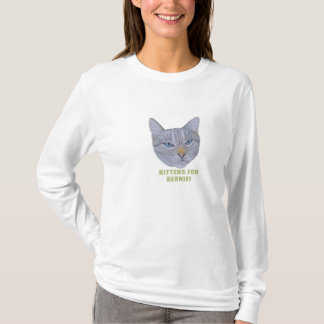 Kätzchen für Bernie! T-Shirt