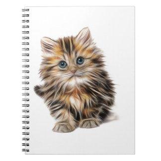 Kätzchen-Geschenke Notizblock