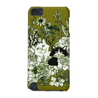 Kätzchen in den Wildblumen iPod Touch 5G Hülle