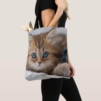 Kätzchen mit blauen Augen Tasche