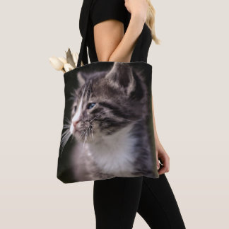 Kätzchen-stehendes hohes tasche