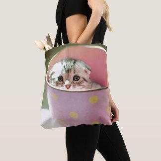 Kätzchen-Verstecken Tasche