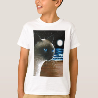 Katze 396 siamesisch T-Shirt