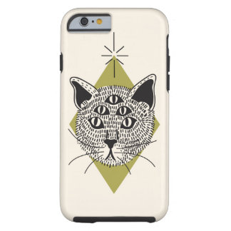 Katze 5-Eyed iPhone 6/6s Fall Tough iPhone 6 Hülle