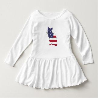 "Katze ""amerikanische Flagge "" Kleid"