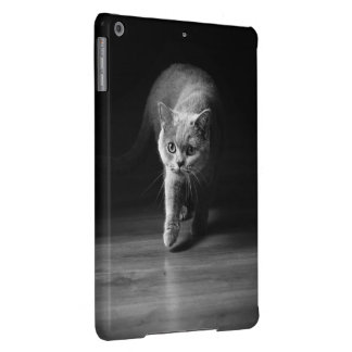 Katze auf Jagd iPad Air Hülle