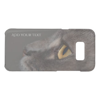 Katze Auge-Makro durch Shirley Taylor Get Uncommon Samsung Galaxy S8 Plus Hülle