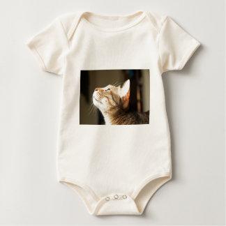 Katze Baby Strampler