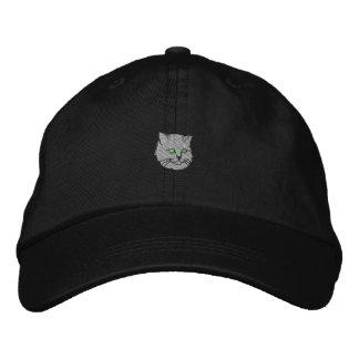 Katze Bestickte Kappe