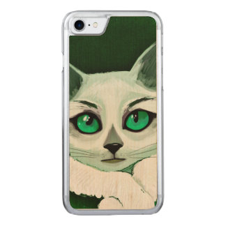 Katze Carved iPhone 8/7 Hülle