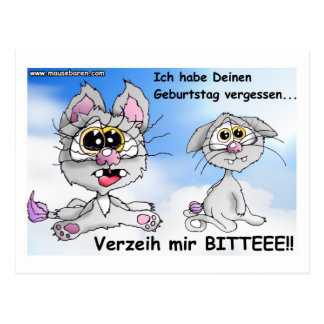 katze, cat, geburtstag, happy birthday, postkarte