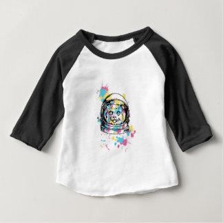 Katze das astronuat baby t-shirt