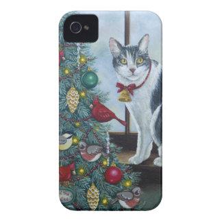 Katze des Weihnachten0417 iPhone 4 Case-Mate Hülle