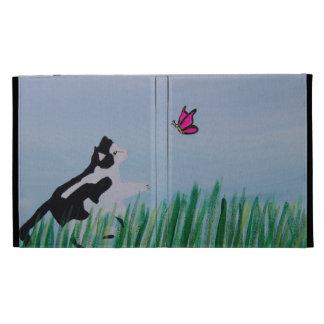 Katze, die Schmetterling jagt