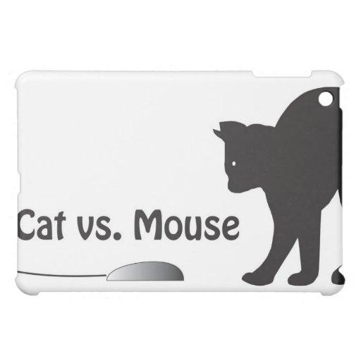 Katze gegen Maus Hüllen Für iPad Mini
