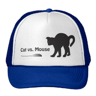 Katze gegen Maus Trucker Caps