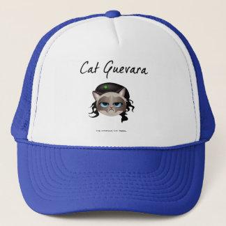 Katze Guevara der berüchtigte Katzen-Rebell Truckerkappe