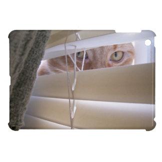 Katze im Fenster iPad Mini Hülle