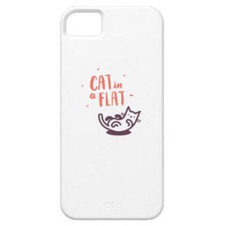 Katze in einer Ebene iPhone 5 Etui