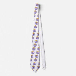 Katze in einer Krone Personalisierte Krawatte