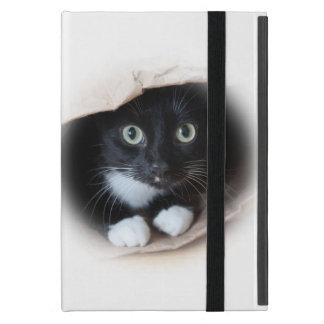 Katze in einer Tasche Schutzhülle Fürs iPad Mini