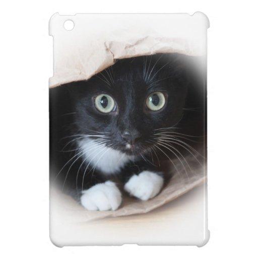 Katze in einer Tasche iPad Mini Schale