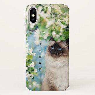 Katze iPhone X Hülle