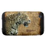 Katze Jaguars wilder Tier-Liebhaber iPhone Fall iPhone 3 Tough Hüllen