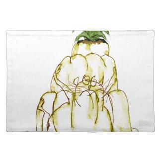 Katze jello die Ananas der tony fernandess Stofftischset