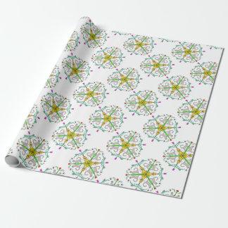 Katze kaliedoscope geschenkpapier