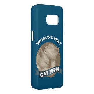 Katze, Kätzchen u. Haustier-Mamma für Feiertag der