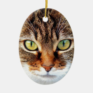 Katze Keramik Ornament