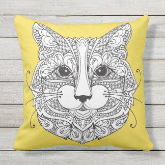 Katze Kissen Für Draußen